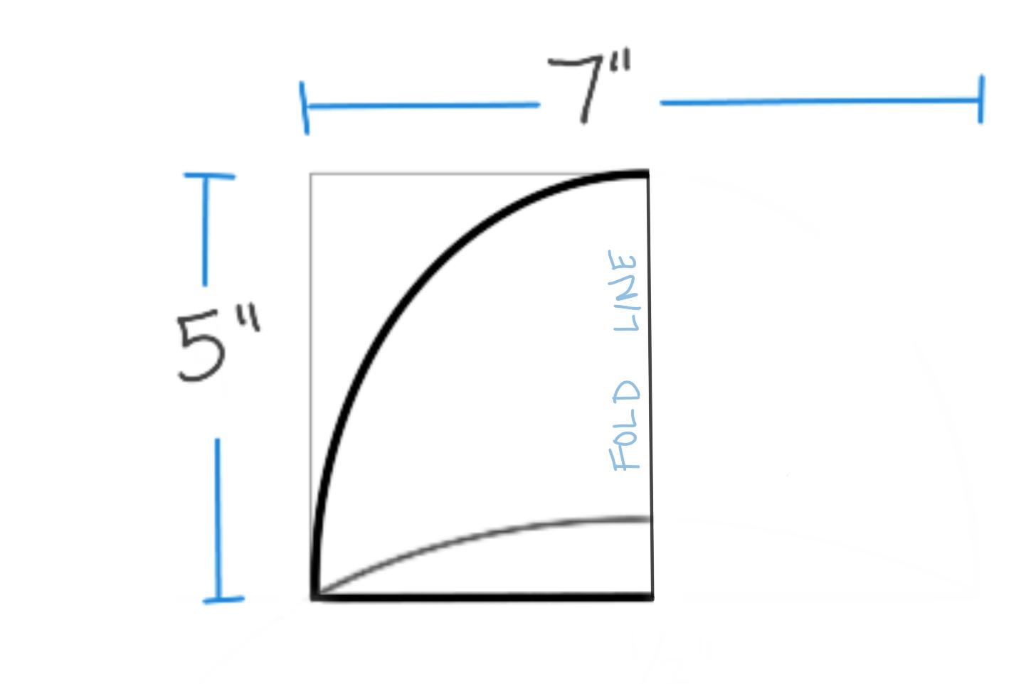 Shoulder pad curve