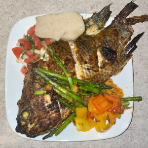 Read more about the article Oven-grilled tilapia